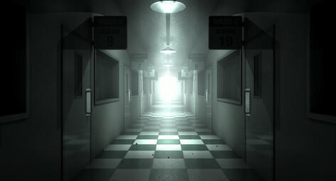 doctor misconduct hospital hallway