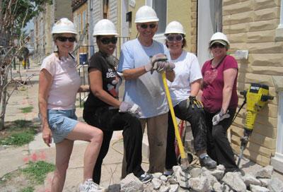 Group Photo: (L to R) Carolyn Kramer, Sandra Ford, Art Kramer, Lisa Kowal, Jennifer Boyle