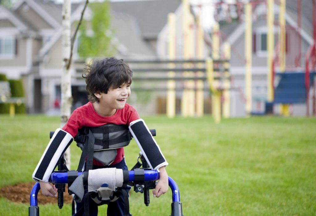 cerebral palsy patient